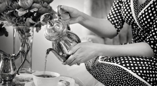 Il teatime non è roba da vecchie!