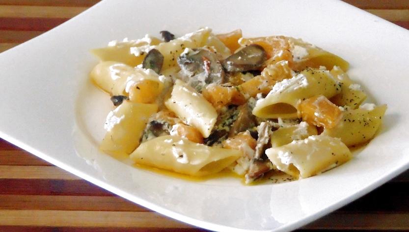 Menù autunnale: Pasta Funghi, Rcotta e Zucca