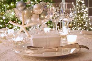 decorare la tavola di Capodanno