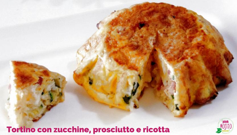 Frittata al forno sfiziosa con zucchine, prosciutto e ricotta
