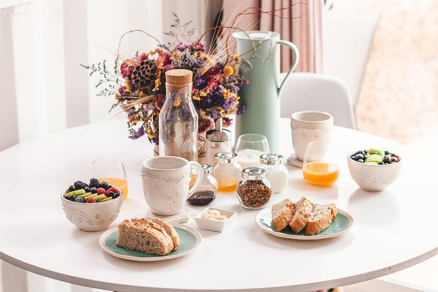 tavolo della colazione